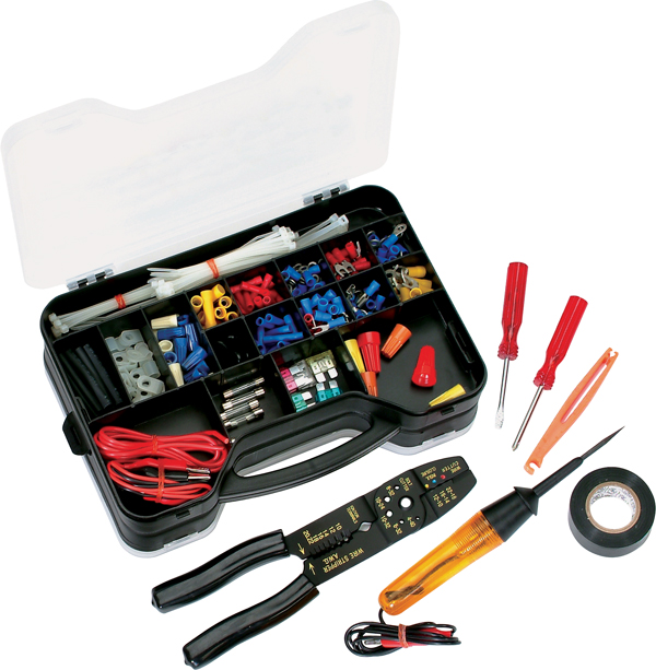 atd 285 285 pc automotive electrical repair kit atd tools inc rh atdtools com Auto Electrical Wiring Kits Basic Ignition Wiring Diagram