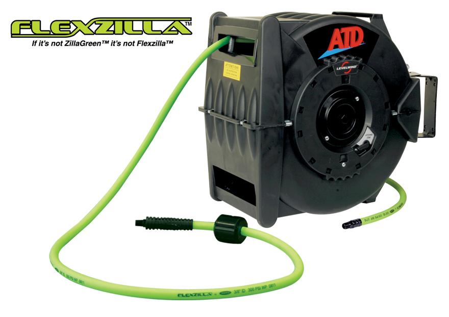 atd     ft retractable air hose reel atd tools