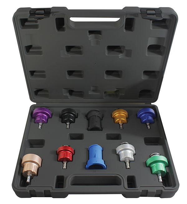 ATD Tools 3305 10-Piece Radiator Pressure Tester Update Kit