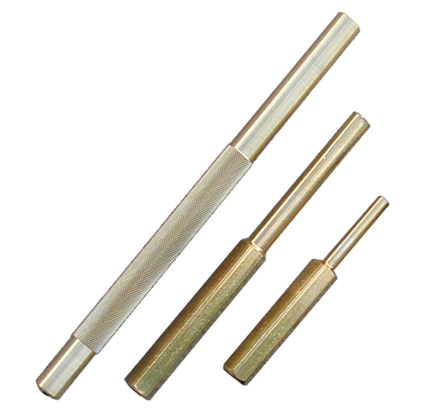 Atd 4075 3 Pc Non Sparking Brass Punch Set Atd Tools