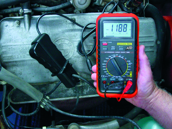 atd-5570 - deluxe automotive meter with rpm and temperature functions