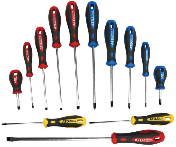 ATD Tools 6265 Professional Screwdriver Set 8 pc.