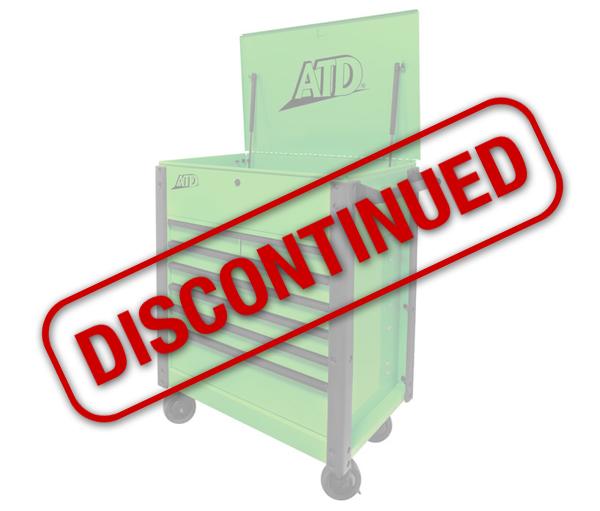 Atd 70400a 7 Drawer Flip Top Tool Cart Atd Tools Inc
