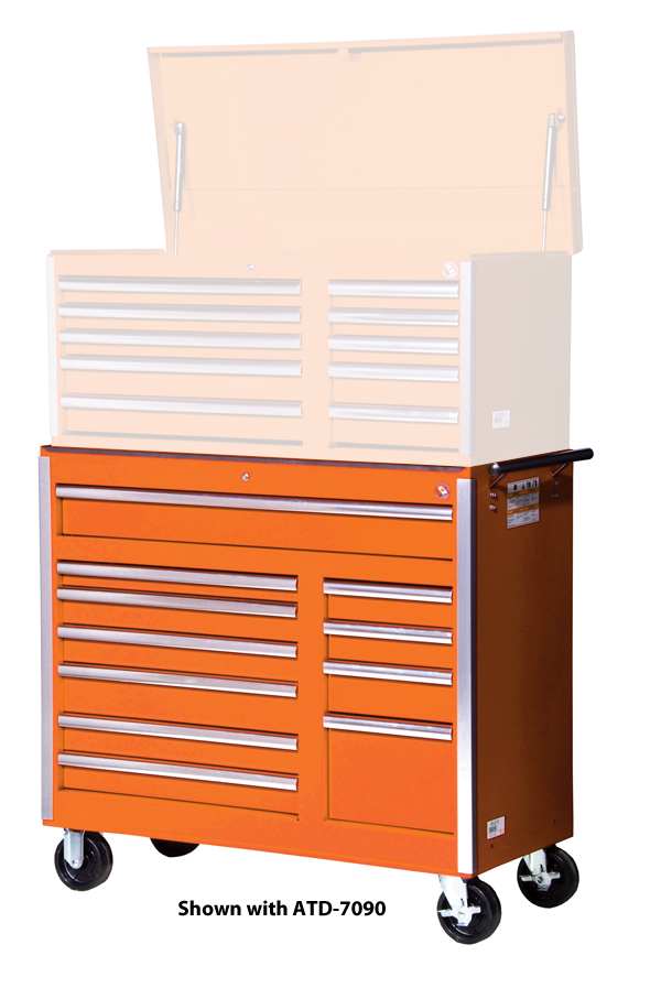 Shown In Photo With The ATD 7090 10 Drawer Top Chest