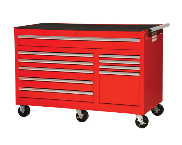"Mechanics 8 Drawer Tool Box Chest Roller Cabinet: 56"" 10-Drawer Roller Cabinet"