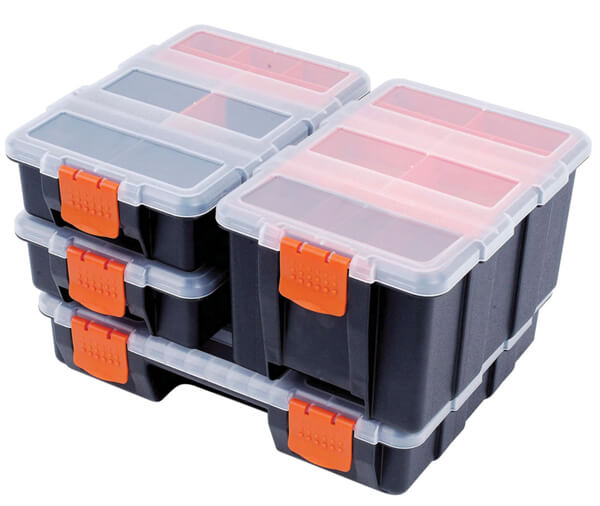 ATD 74 4 Pc. Storage Box Organizer Set
