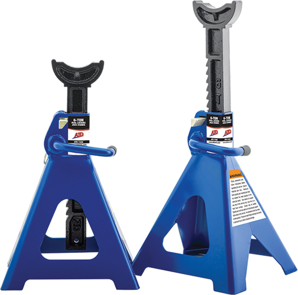 Atd 7446 6 Ton Ratchet Style Jack Stands Atd Tools Inc