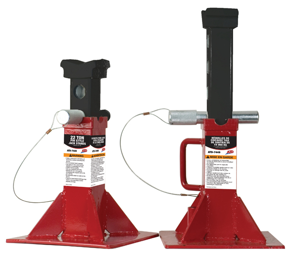 Atd 7449 22 Ton Pin Style Jack Stands Atd Tools Inc