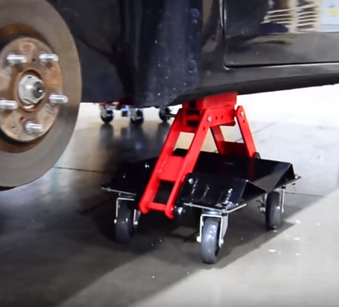 atd  heavy duty convertible car dolly set atd tools