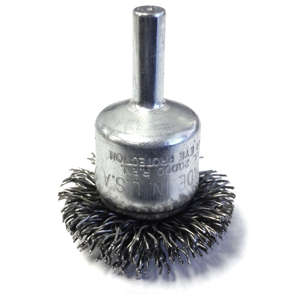 Atd 8255 1 1 2 Quot Circular Flared Crimped Wire End Brush