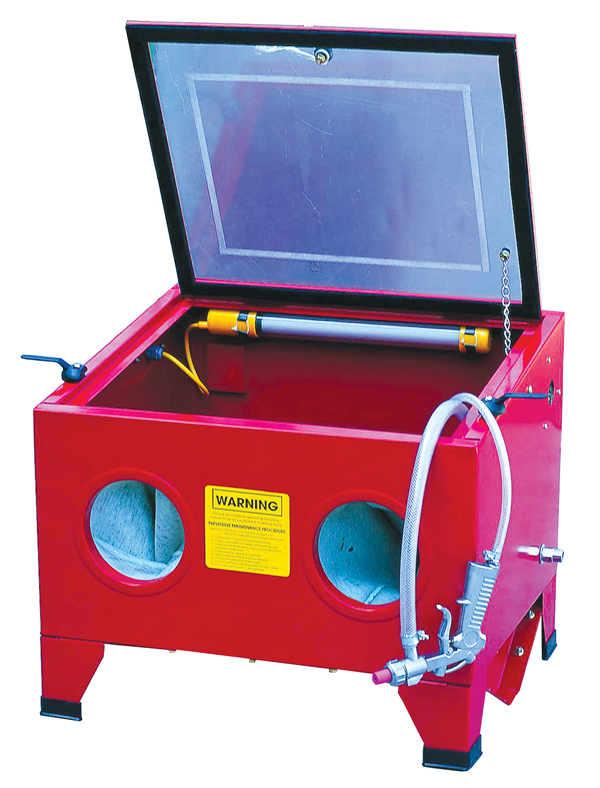 Home Repair Shop Abrasive Blast Cabinets  sc 1 st  ATD Tools & ATD-8400 - Bench Top Steel Blast Cabinet - ATD Tools Inc.